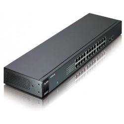 ZyXEL GS1100-24 v2 企業級無網管Giga區域網路交換器